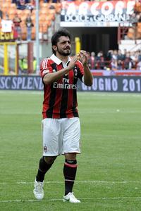 Gattuso kur ishte tek Milan