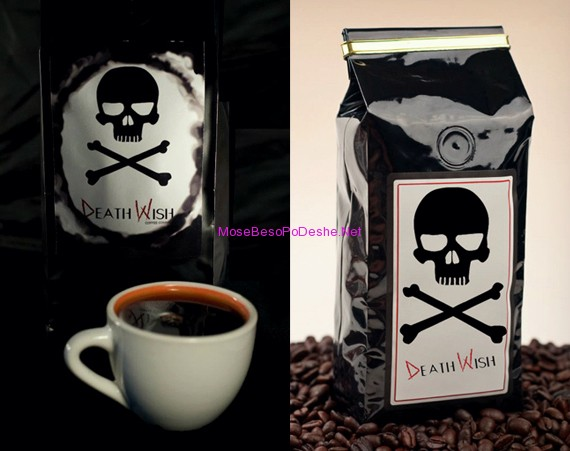 Death Wish kafeja e vdekjes