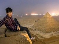 Fotografi e piramides se Gizas