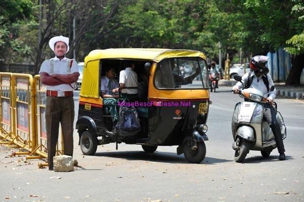 Polic rrugor ne Indi