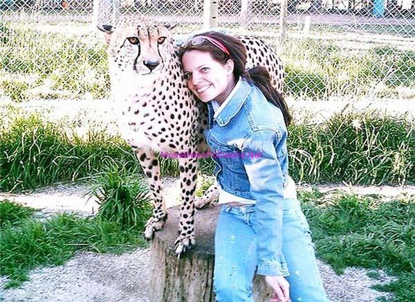 njeriu dhe leopardi