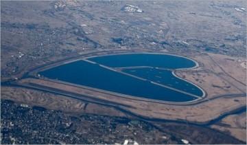 Liqeni në formë zëmre në Koren e Jugut.