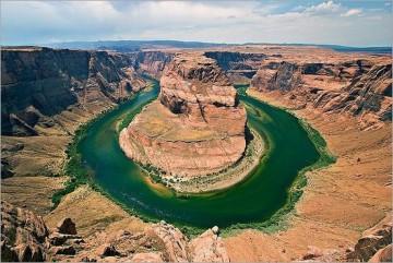 Lumi në formë patkoi në Arizona.